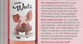 Rosa-Wutz